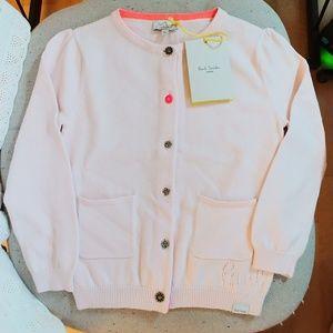 ❤️Paul Smith girl's cardigan sz 4a bought in Paris
